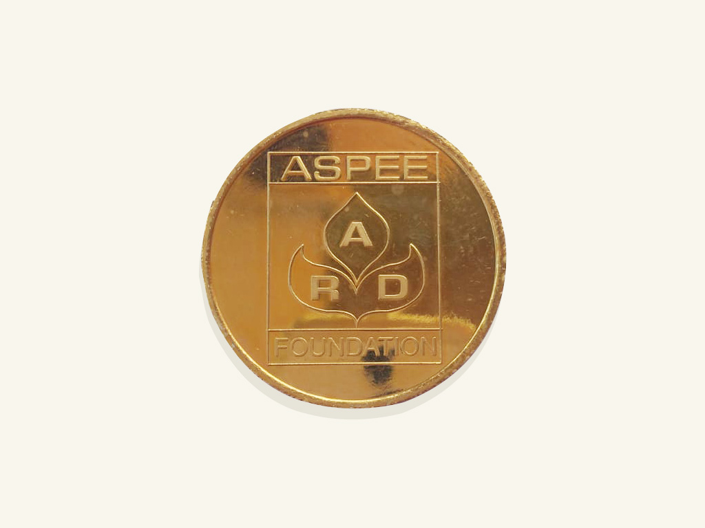 Aspee Gold Medal has been instituted since June 1974